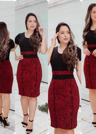 Vestidos roupas feminino moda evangélica comportada social midi tubinho gode