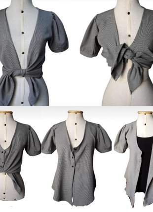 Cropped/camisa 5 em 1