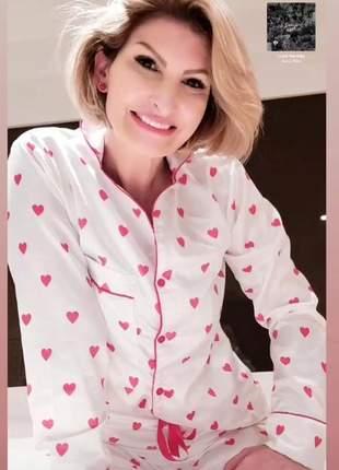 Pijama estiloso em cetim - lindo presente