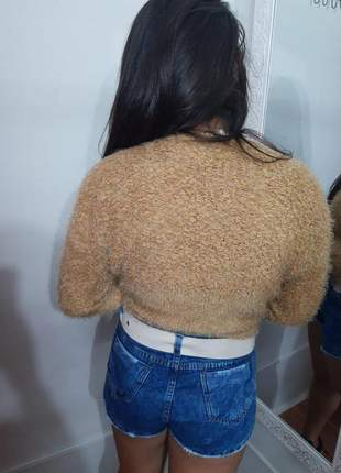 Casaco de pelinho lançamento moda feminina cores exclusivas moda feminina