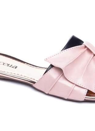 203dc435a Sandálias femininas rasteiras bicolor lançamento 2019 - R$ 129.90 ...