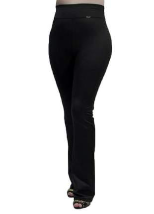 Calça flare modeladora cintura alta de elastano e forro flanelado super resistente