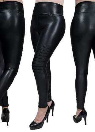 Calça cirre modeladora tratorada preta