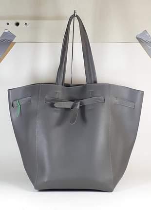 Bolsa bag alexandra cinza,