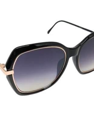 Óculos escuro feminino estiloso lançamento