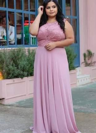 Vestido de festa plus size madrinha casamento noivas mães g1