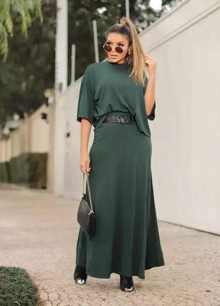 Conjunto de saia e blusa julia