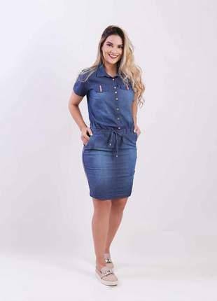 Vestido jeans com elastano  2111701