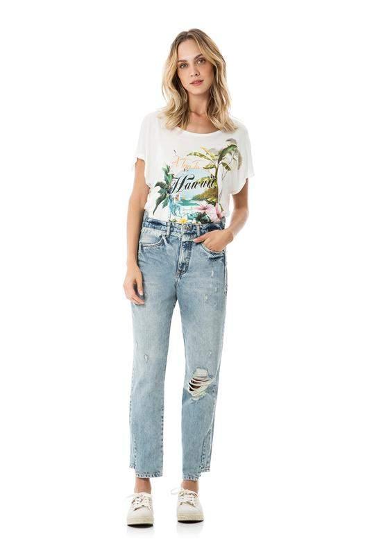 3917bbf56 Calça jeans mommy - lez a lez - R$ 279.20 (cintura alta, reta ...