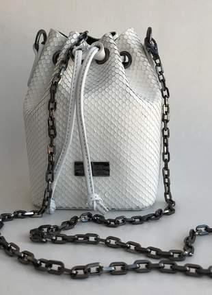 Alça avulsa bolsa luxy - corrente onix