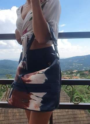 Bolsa aisha - azul marinho