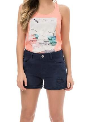 Short jeans marinho - lez a lez