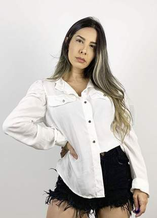 Camisa dress code moda off white