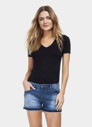 Short lez a lez sunset cintura média jeans
