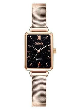 Relógio de pulso feminino de luxo pulseira de aço inoxidável / relógio de pulso de quartzo