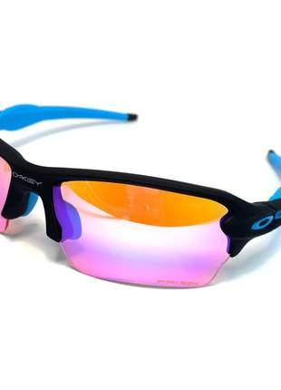 Oculos de sol flak jacket 1.0 e 2.0 lentes prizm polarizado top