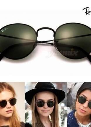 Óculos de sol ray-ban round unissex