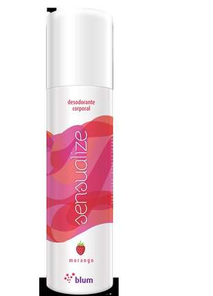 Desodorante corporal de morango - sensualize