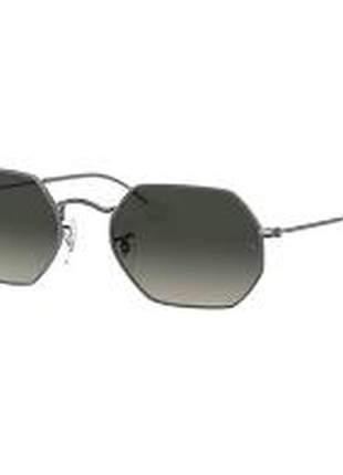 Óculos de sol ray-ban unissex octagonal modelorb3556n 001 53-21