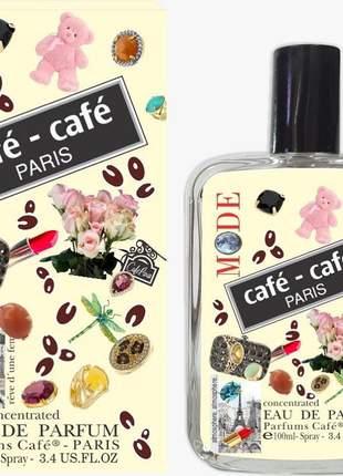 Café paris eau de parfum 100ml perfume feminino