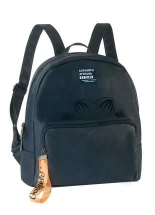 Bolsa mochila personagem garfield alça costas regulável gf4904