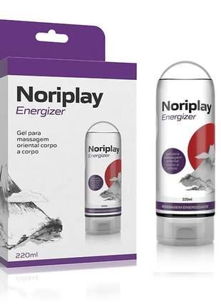 Gel para massagem oriental corpo a corpo – noriplay energizer – 220ml