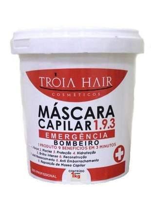 Máscara reparadora 193 emergência bombeiro troia hair 1kg