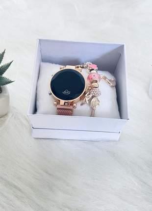Relógio digital estiloso