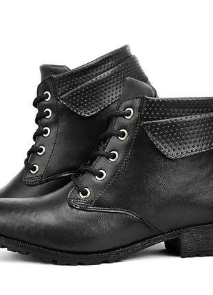 Botinha coturno feminino ankle boot