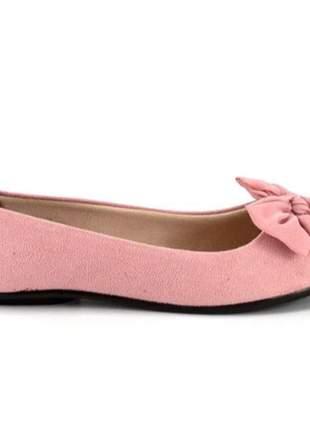 Sapatilha moleca rosa
