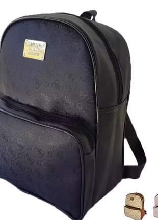 Bolsa estilo mochila preta