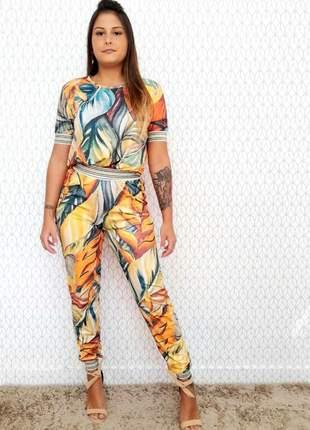 Conjunto de calça e blusa savana (disponível do p ao g4)