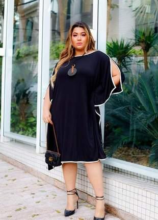 Vestido kaftan plus size