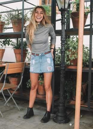 Saia jeans lady rock