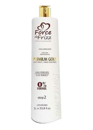 Progressiva premium gold 0% s/f force de frizz 1l