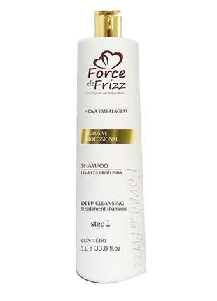 Shampoo anti-resíduo force de frizz 1l