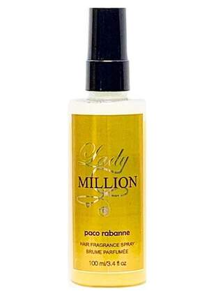 Perfume capilar feminino importado lady million paco rabanne