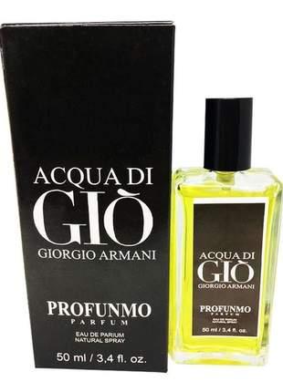 Perfume importado acqua di gio profunmo giorgio armani linha premium