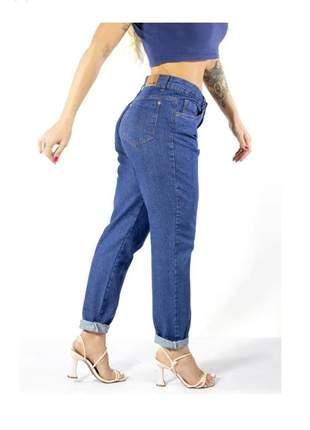 Calça jeans mom premium larguinha