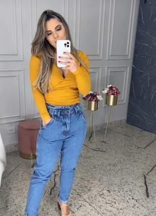 Calca jeans mom .tam. 42 e 44