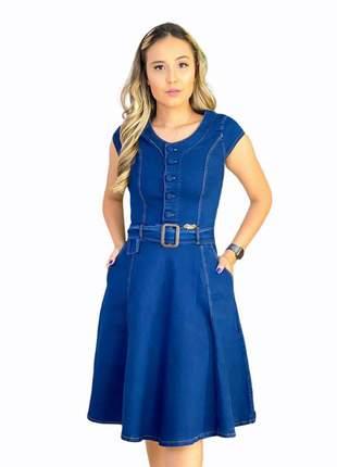 Vestidos evangélica vestido jeans midi moda evangélica cristã