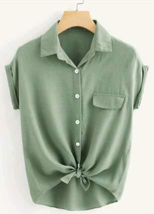 Blusa de botões