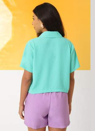 Camisa cropped colors