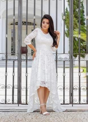 Vestido de noiva civil sonia anair