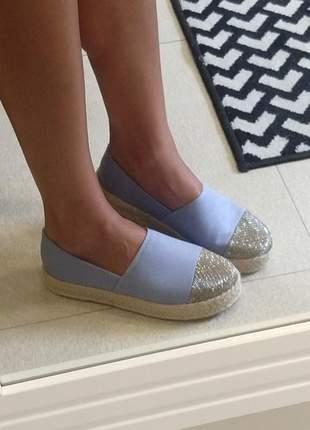 Sapatilha  alpargata femininina flatform dali shoes