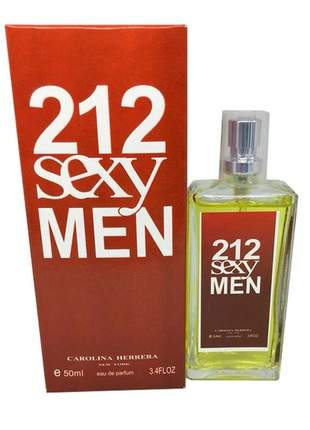 Perfume importado 212 sexy men carolina herrera linha premium