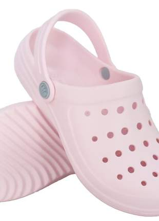 Babuche adulto rosa claro feminina life babuchefr
