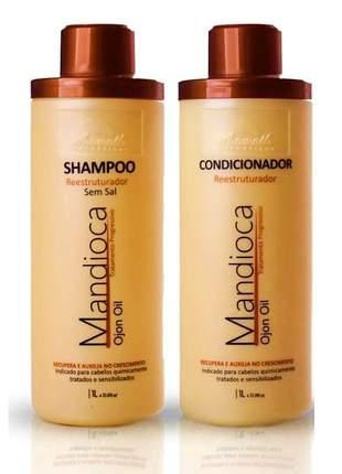 Kit aramath mandioca shampoo e condicionador ojon oil 2l
