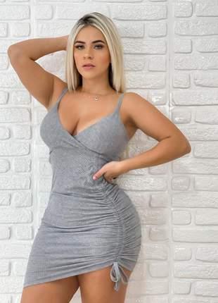 Vestido feminino curto justo tubinho de alcinha + brinde70