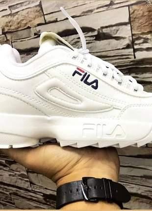 Tenis sneaker fila disruptor